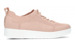 FITFLOP RALLY TONAL GEBREIDE SNEAKERS BLUSH